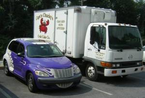 Captain Chuckys Delivery Fleet Edgmont PA